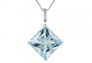 Aquamarine-and-baguette-diamond-pendant