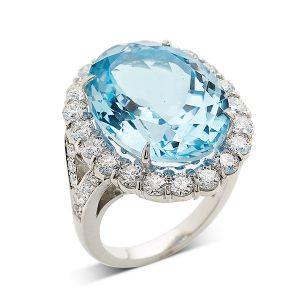 Blue-topaz-and-diamond-ring
