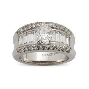 Central-oval,-baguette-cut-diamonds,-pave-set-band