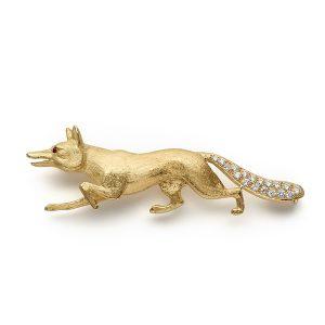 Fox-with-diamond-tail