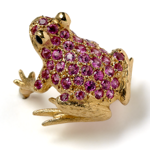 Frog-with-Pink-Sapphires