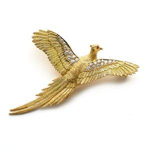 Pheasant-in-flight