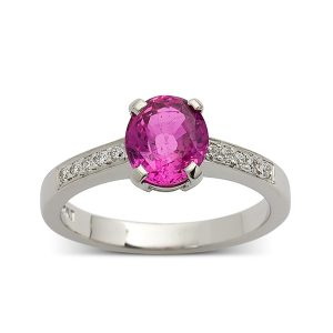 Pink-sapphire-with-diamond-set-band
