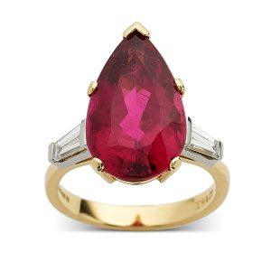 Pink-tourmaline-pearshape-and-diamonds