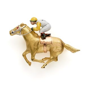 Racehorse-with-enamel-rider