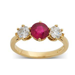Ruby-and-diamond-three-stone