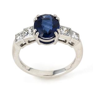 Sapphire-with-Princess-Cut-Diamonds