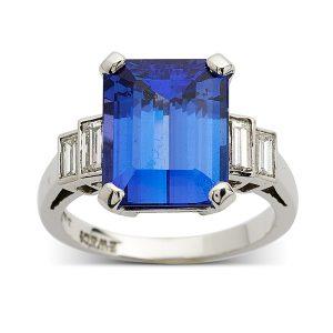 Sapphire-with-baguette-cut-diamonds