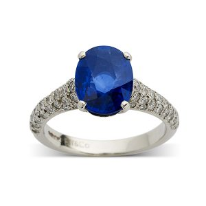 Sapphire-with-diamond-set-band
