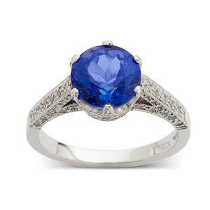Tanzanite-with-diamonds-to-band