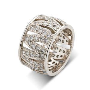 Tiger-stripe-diamond-ring