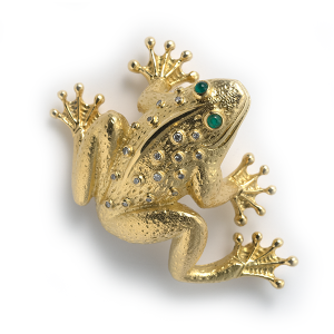 frog-with-diamonds