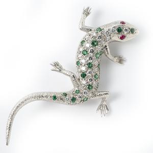 lizard-with-emeralds