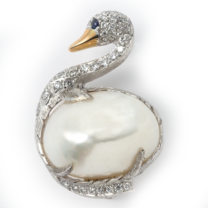 pearl-swan