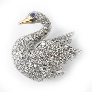 swan-with-diamonds